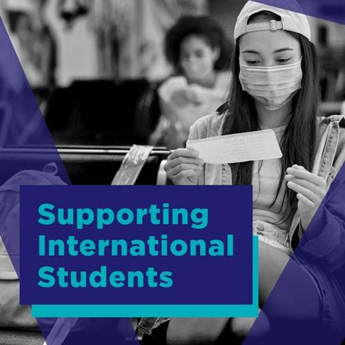 Supporting International Students Webinar