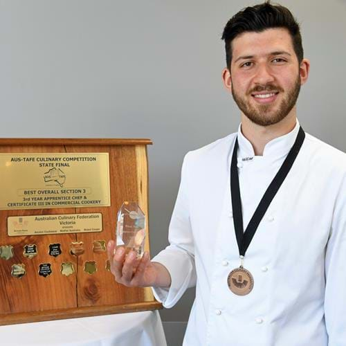 Apprentice chef Nick Gnafakis a national winner
