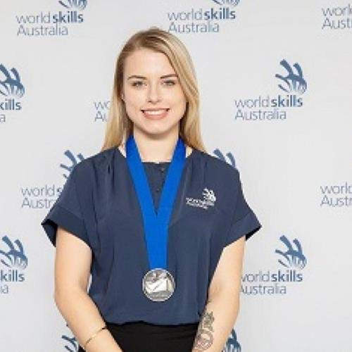 Jeweller Leah Straughair wins Silver at WorldSkills