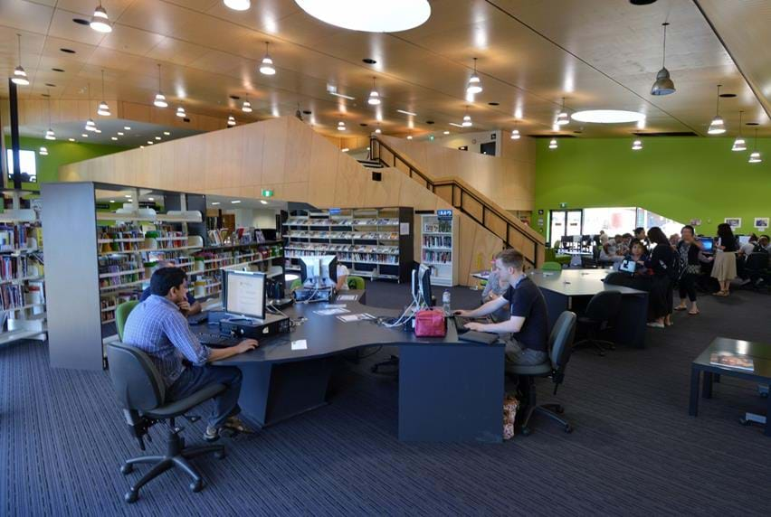 Melbourne Polytechnic Epping Campus Library