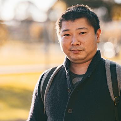 Portrait of Cyber Security student, Zheng Ke