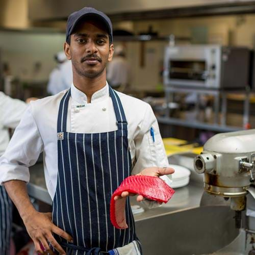 From nanotechnology to cookery - how Kush found his something