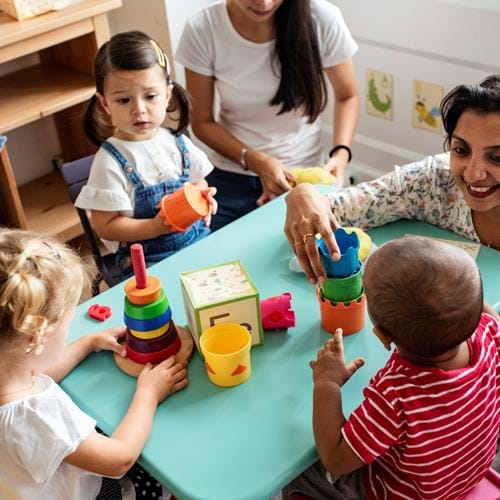 Influencing the future - careers in Early Years Education